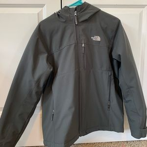 Puffy north face coat